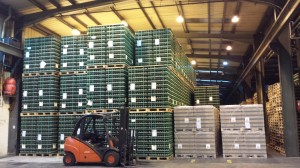 warehousing at FDC chorley Lancashire